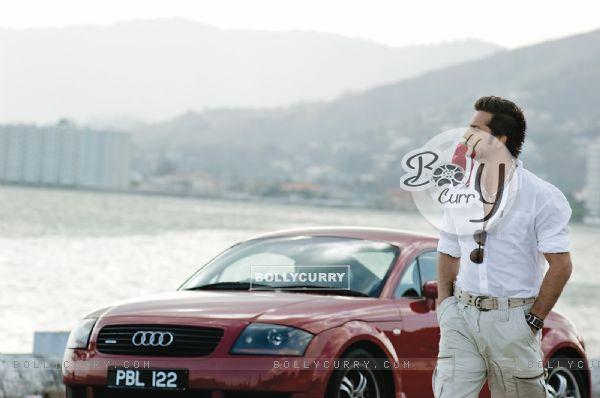 Fardeen Khan in Dulha Mil Gaya movie