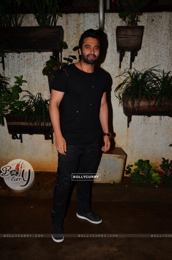 "Jackky Bhagnani at Special screening of the film ""Madaari"""