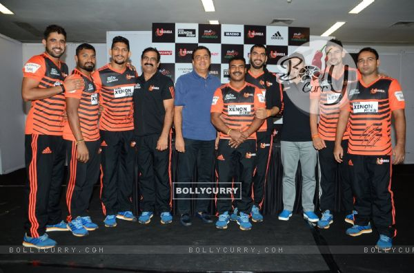 Ronnie Screwvala at Press meet of 'U Mumba'