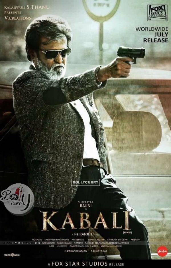 Poster of 'Kabali' starring Rajinikanth (412927)