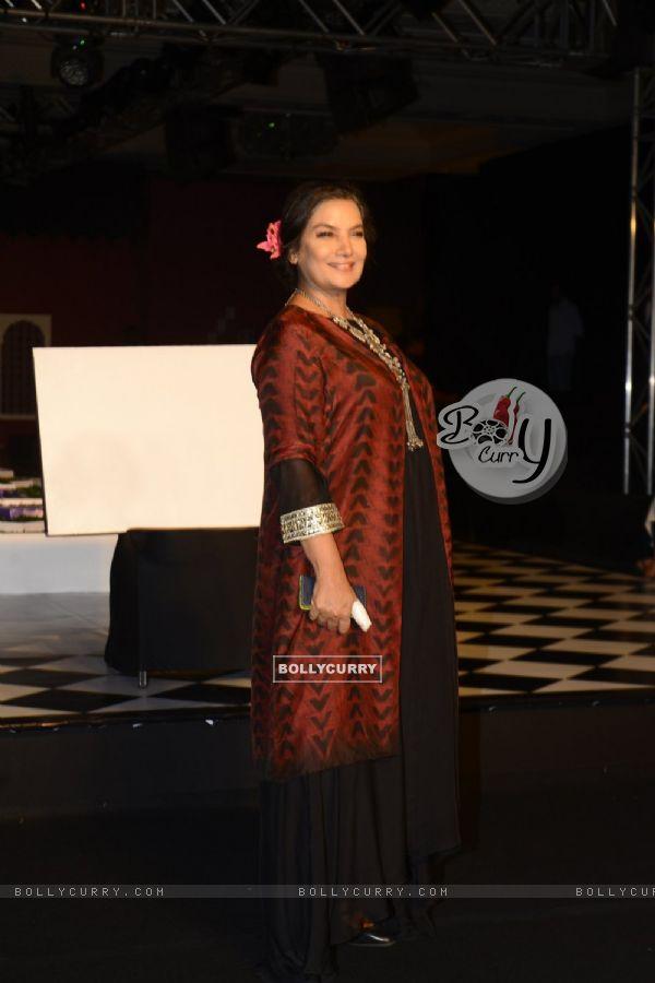 Shabana Azmi at India Couture Week