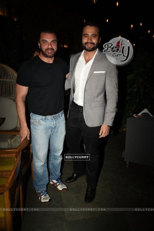 Actors Sohail Khan and Jackky Bhagnani at 'Fever' Bash!