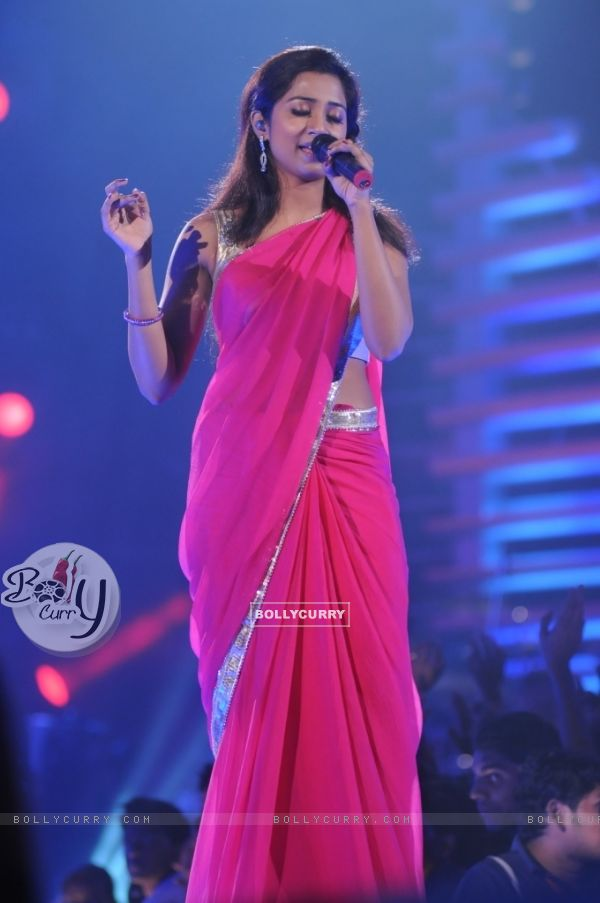 Shreya Ghosal in the show Music Ka Maha Muqqabla