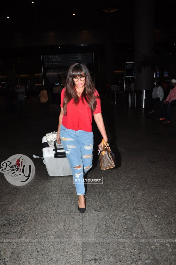 Richa Chadda snapped at airport