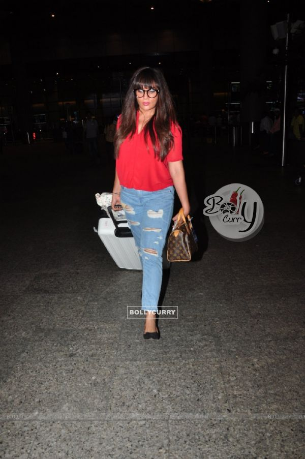 Richa Chadda snapped at airport