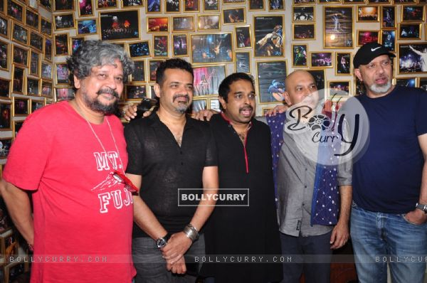 Sanjay Divecha album launch with Ehsaan Noorani, Amol Gupte, Shankar Mahadevan and Loy Mendosa