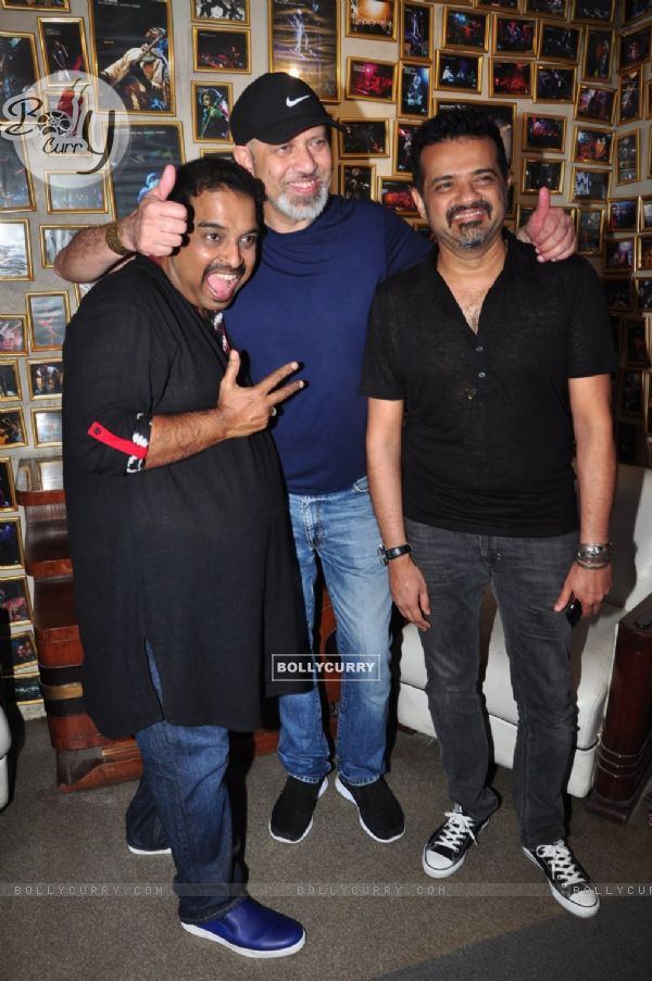 Sanjay Divecha album launch with Ehsaan Noorani, Shankar Mahadevan and Loy Mendosa