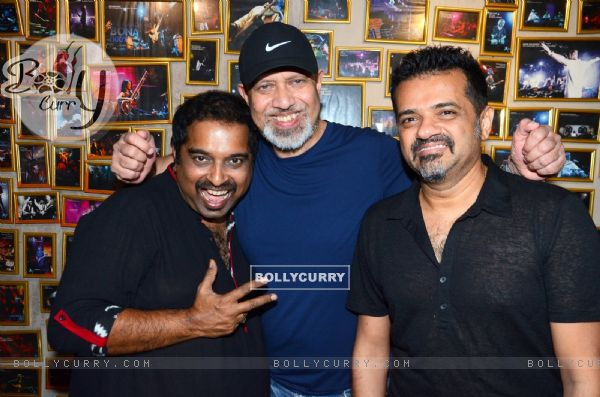 Sanjay Divecha album launch with Loy Mendosa, Shankar Mahadevan and Ehsaan Noorani