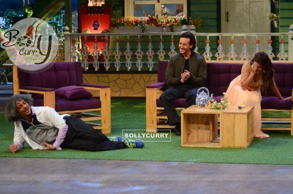 Tiger Shroff and Jacqueline Fernandes Promotes 'A Flying Jatt' on sets of The Kapil Sharma Show