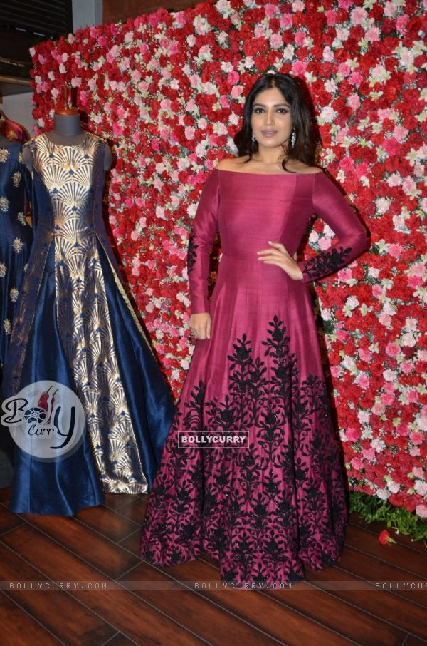 Bhumi Pednekar at SVA Autumn Winter collection launch