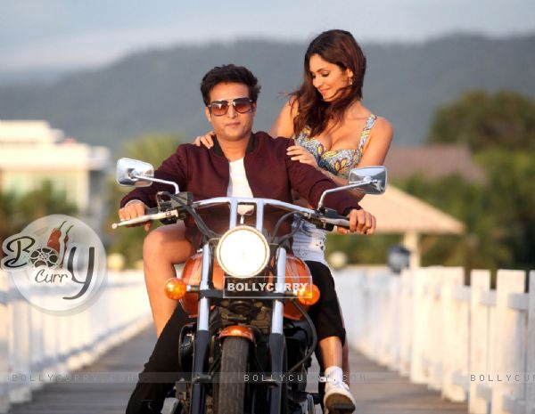Bruna Abdullah and Jimmy Shergill starring Yea Toh Two Much Ho Gayaa