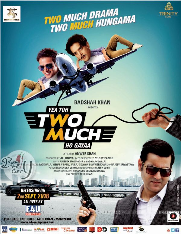 Jimmy Shergill and Arbaaz Khan starring Yea Toh Two Much Ho Gayaa