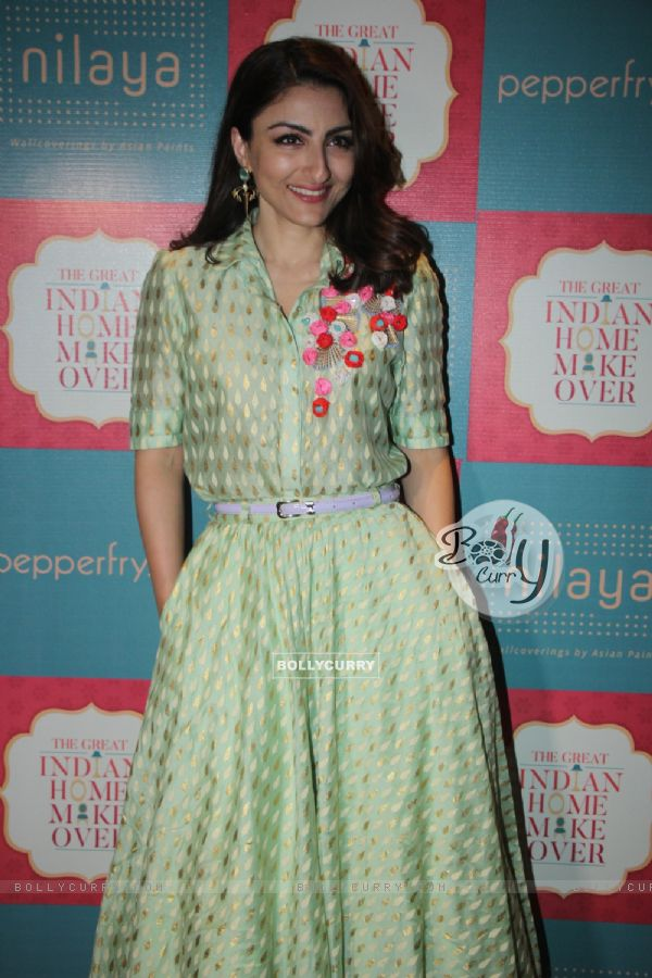 Soha Ali Khan at Great Indian Home Makeover Event