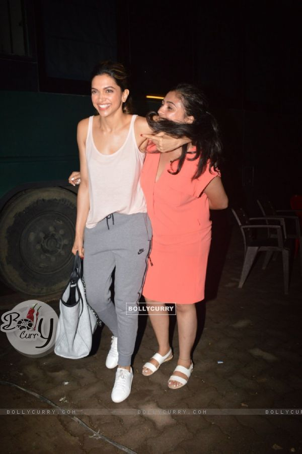 Deepika Padukone sanpped