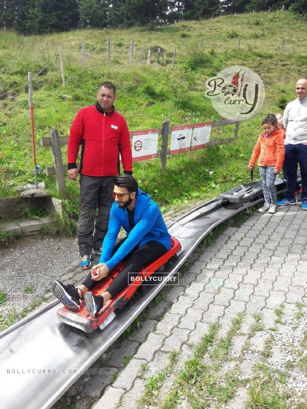 Ranveer all set to have an adventurous holiday at Switzerland