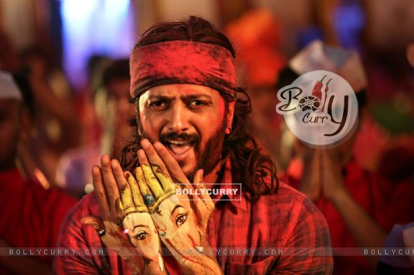 Riteish Deshmukh's look in Bappa from Banjo