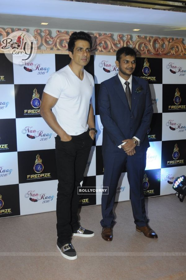 Sonu Sood at Launch of NavRaag at Sahara Star