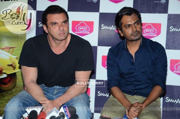 Sohail Khan & Nawazuddin Siddiqui of 'Freaky Ali' at SMAASH