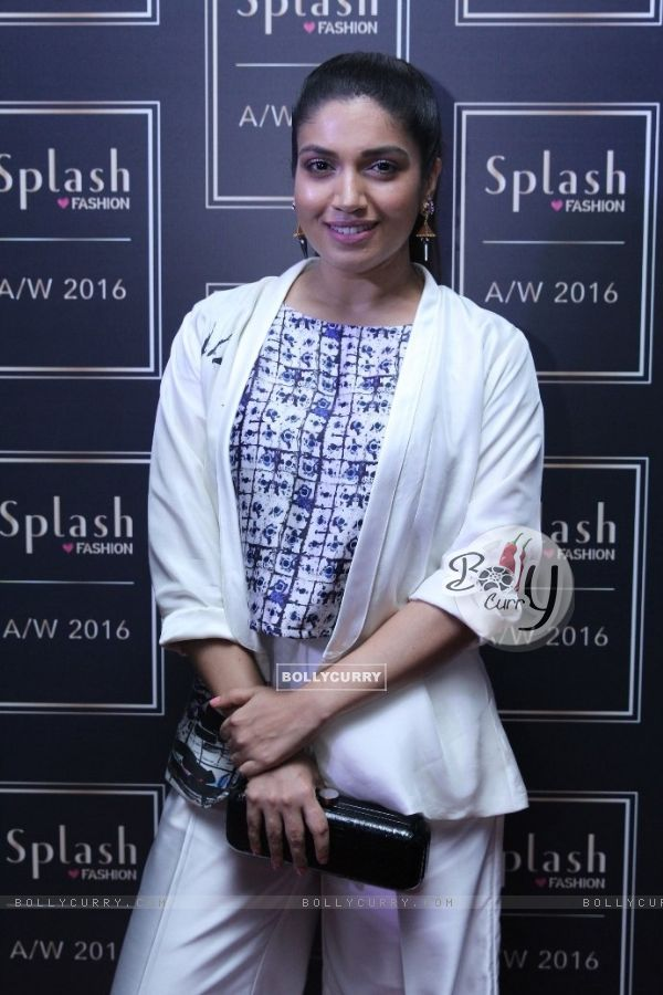 Bhumi Pednekar at the after party for  launch of Splash Fashion's AW16 collection
