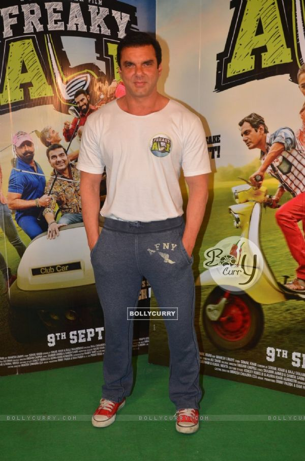 Sohail Khan at Promotion of 'Freaky Ali'