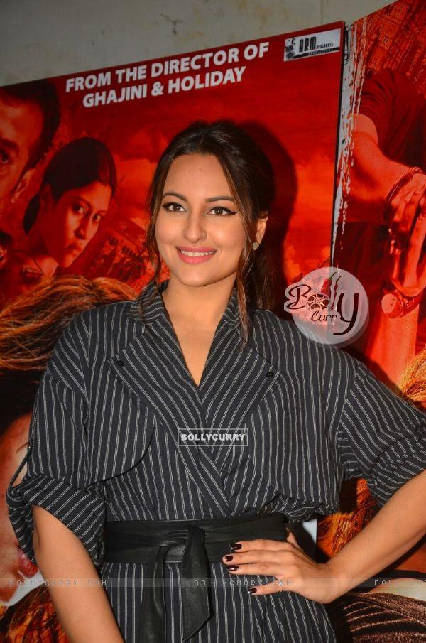 Promotion of Akira starring Sonakshi Sinha
