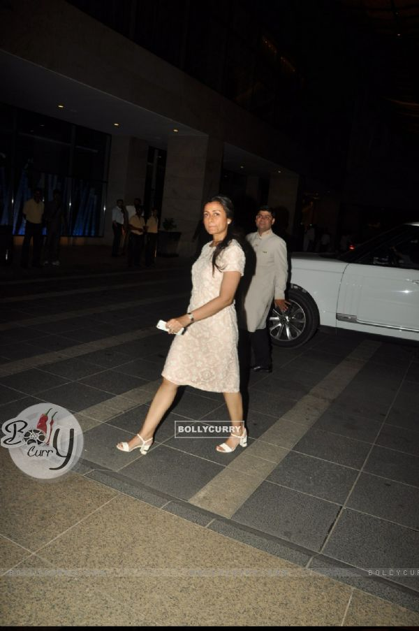 Namrata Shirodkar at Chiranjeevi's 61st Birthday Bash