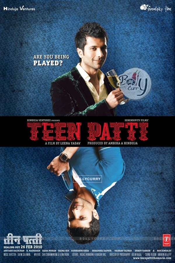 Poster of the movie Teen Patti with Vaibhav Talwar (41716)