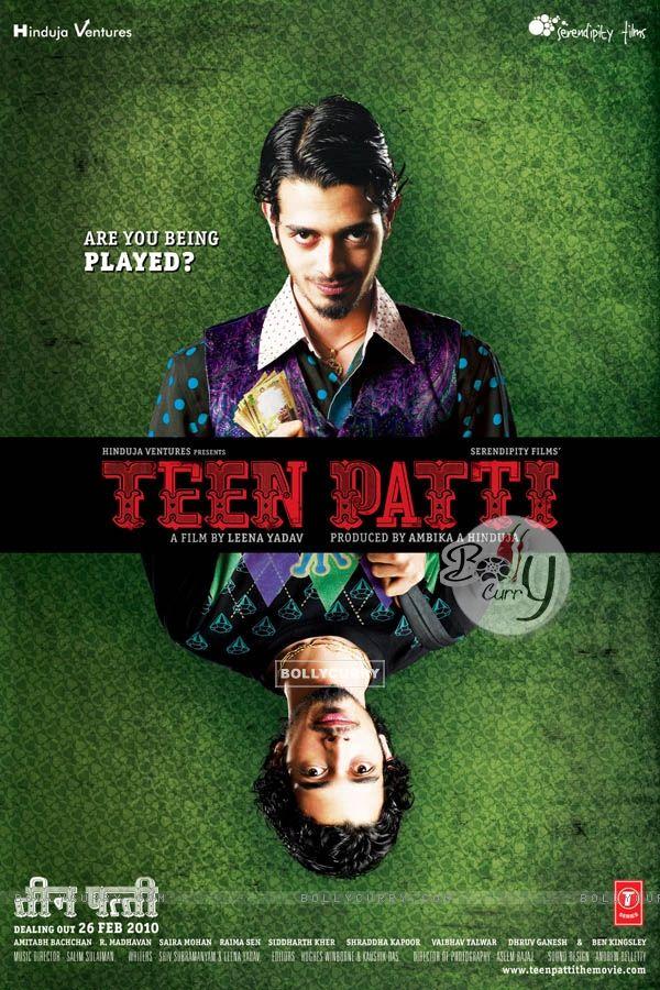 Teen Patti movie poster with Dhruv Ganesh (41717)