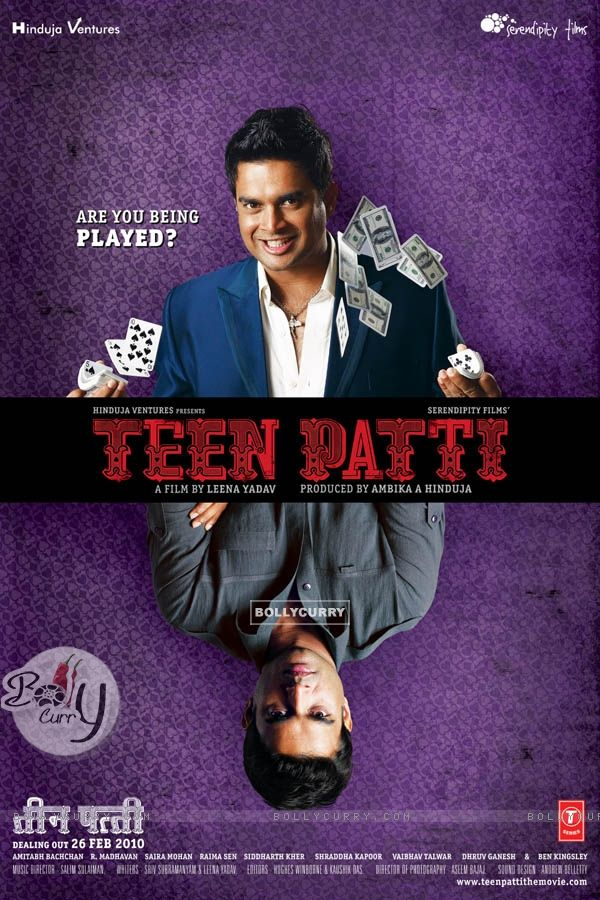 Teen Patti movie poster with R. Madhavan (41718)