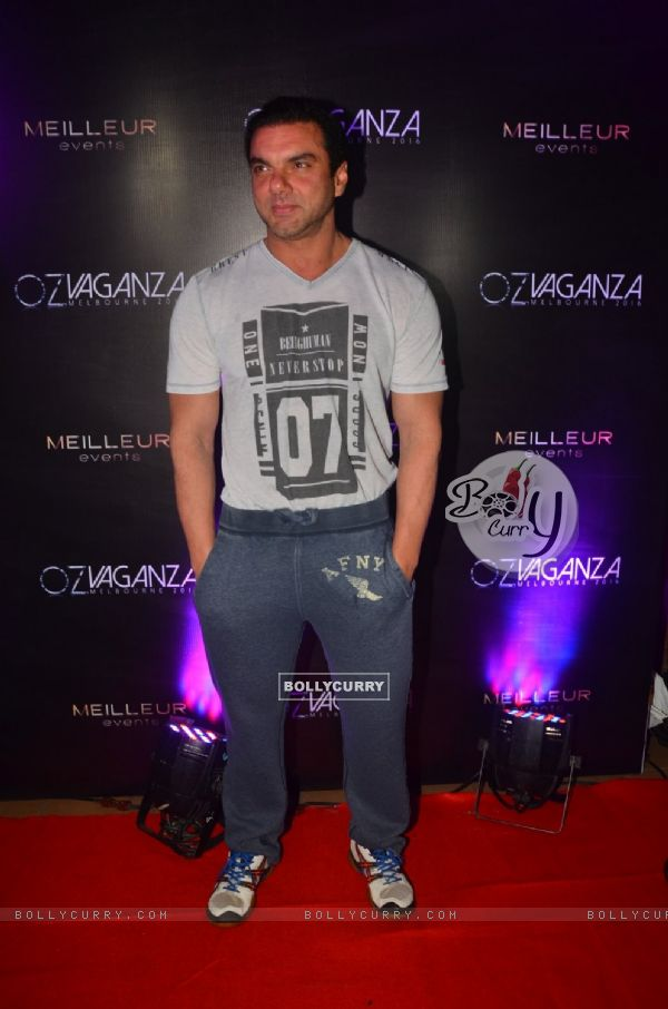 Sohail Khan at Oz Fashion Event 2016