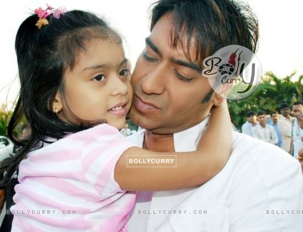 Ajay Devgan and Kajol Daughter Nysaa