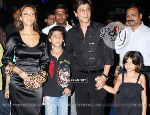 Shahrukh Khan and Gauri son Aryan
