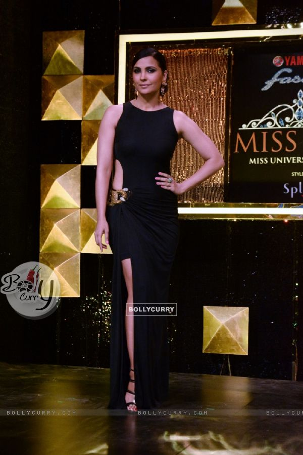 Lara Dutta at Miss Diva