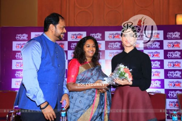 Tamannaah Launches 'Naturals at Home'