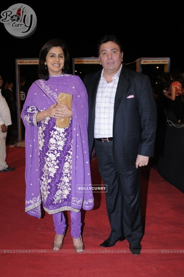 Rishi Kapoor with wife Neetu