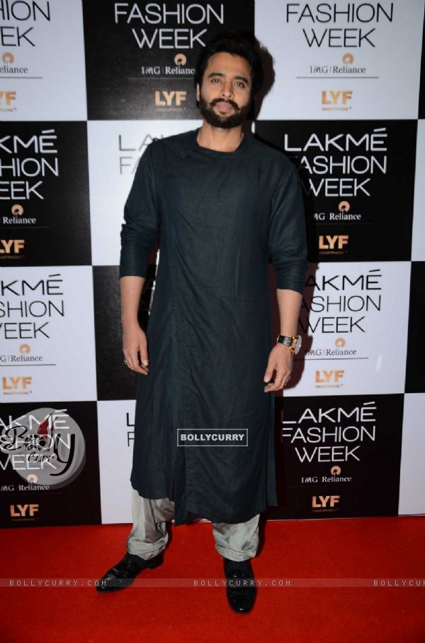 Jackky Bhagnani at Lakme Fashion Week Winter Festive 2016- Day 1
