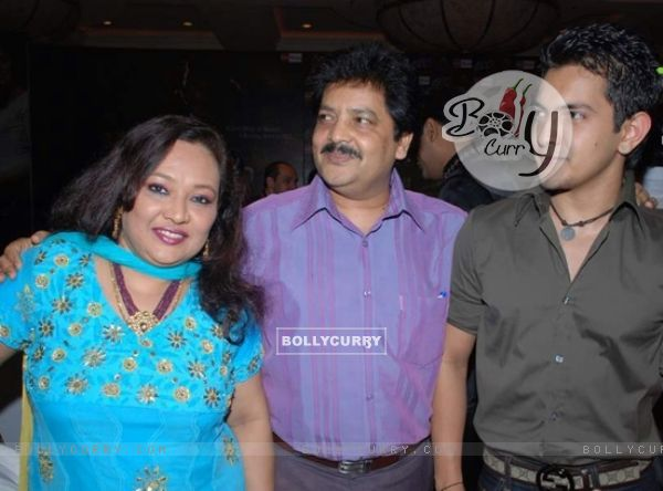 Udit Narayan and Family