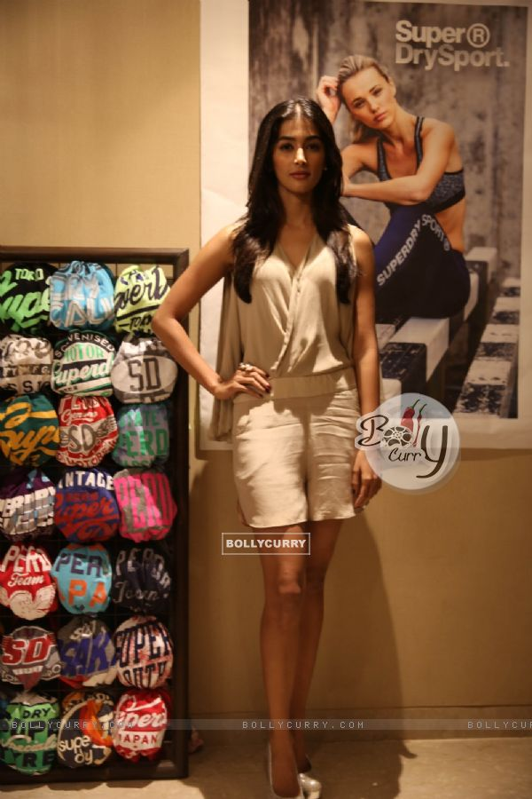 Pooja Hegde at Launch of Superdry's AW'16 Sport Collection