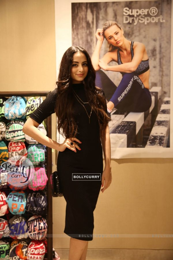 Zoya Afroz at Launch of Superdry's AW'16 Sport Collection