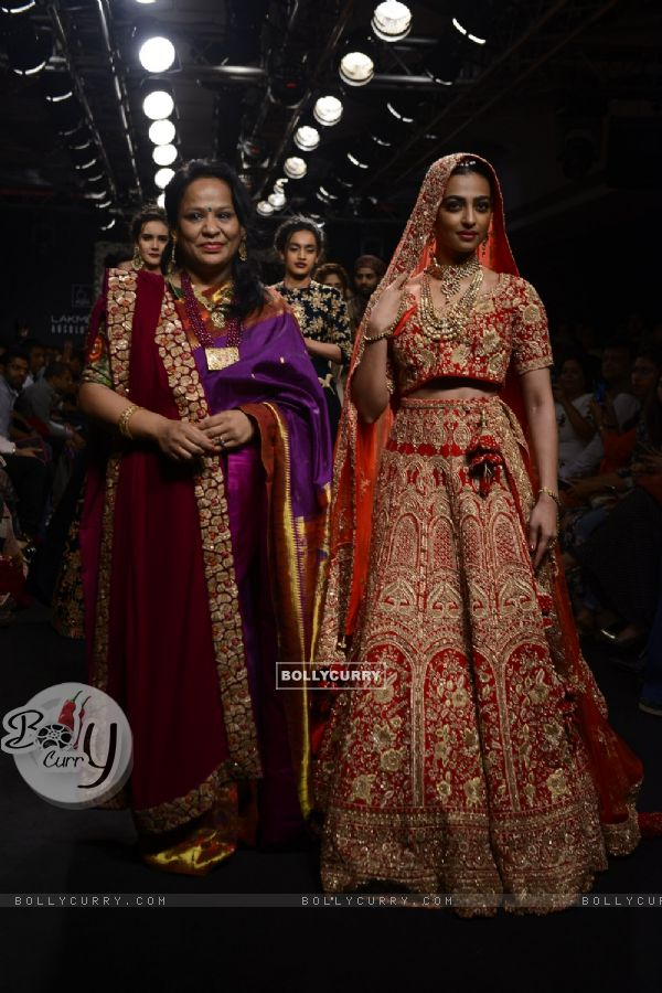 Day 5 - Radhika Apte walks the ramp at Lakme Fashion Show 2016