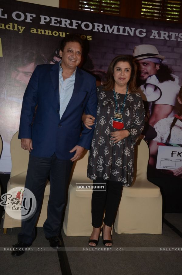 Shashi Ranjan and Farah Khan at ITA school event 2016