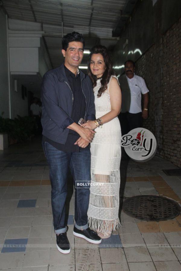 Manish Malhotra Snapped at Dipti Sandesara's Bash!
