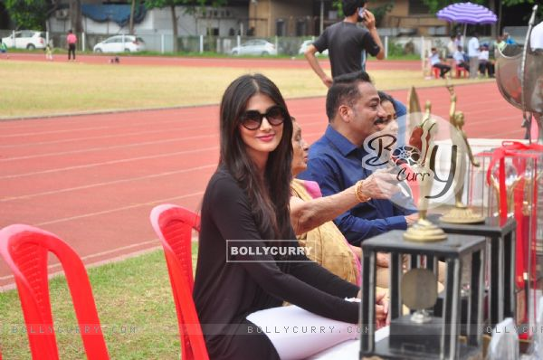Pooja Hegde at Bombay City District Amateur Athletics Association