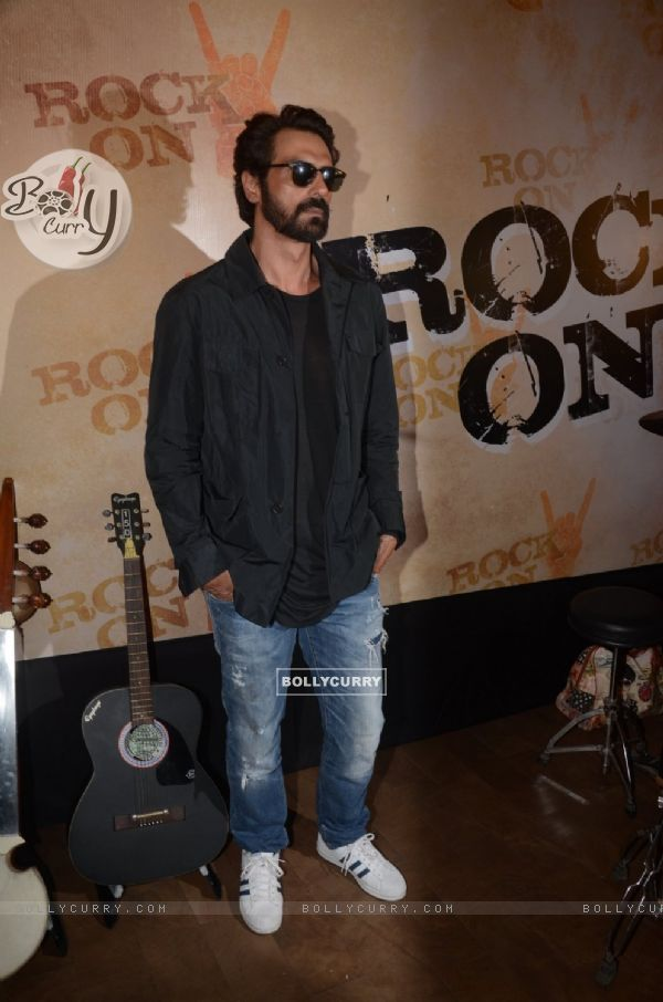 Arjun Rampal at Teaser Launch of ROCK ON 2!