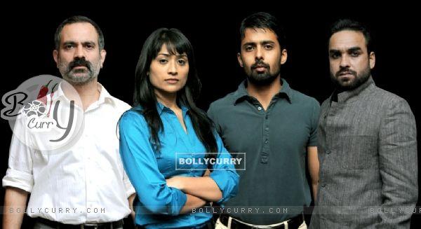 Cast of the tv show Powder