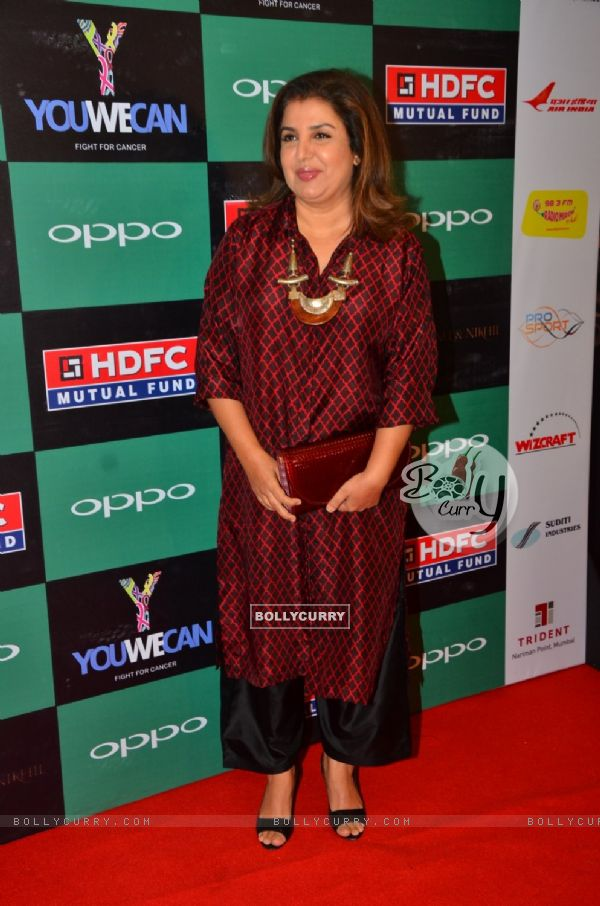 Farah Khan at Launch of Yuvraj Singh's new Clothing line 'YouWeCan'