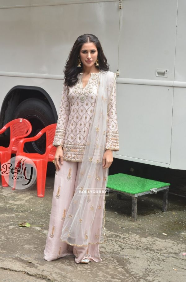 Nargis Fakhri at Promotion of 'Banjo' on The Voice India Kids (419054)