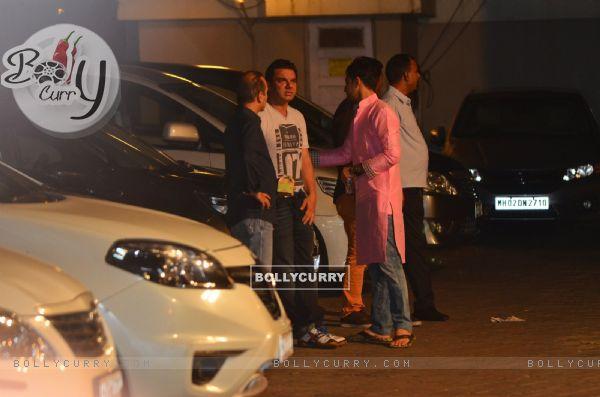Sohail Khan at Salman Khan's Ganesh Chaturthi Celebration