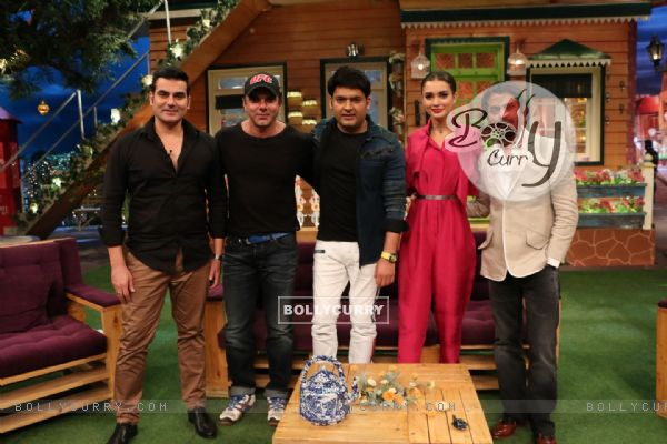 Celebs at Promotion of 'Freaky Ali' on The Kapil Sharma