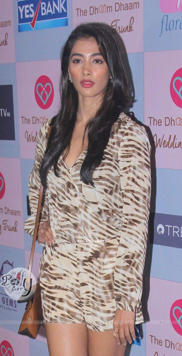 Pooja Hegde at Dhoom Dhaam Wedding Trunk Event